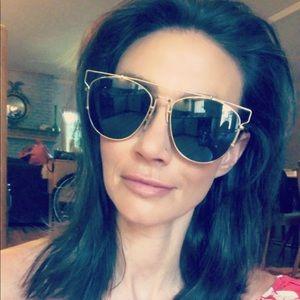 NWOB! DIOR Technologic Brow Bar Sunglasses